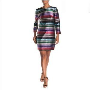 Trina Turk Occasion Multicolor Stripe Print Dress